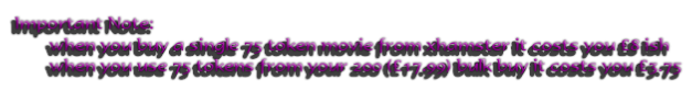 Important Note: 
